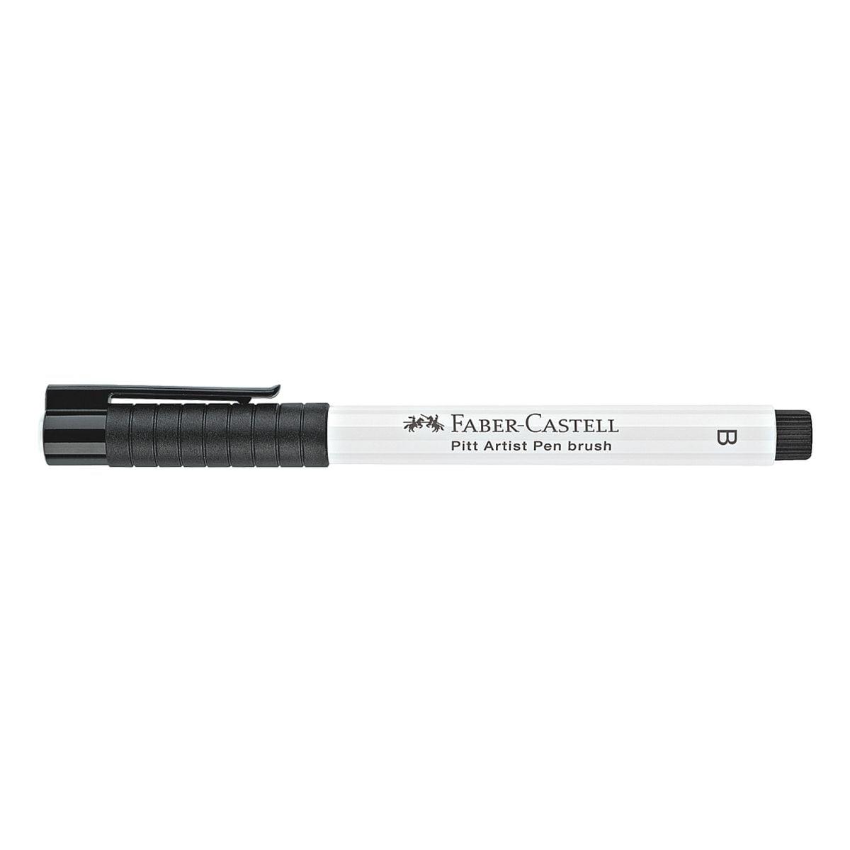 Faber-Castell Tuschestift B »Pitt Artist Pen« weiß