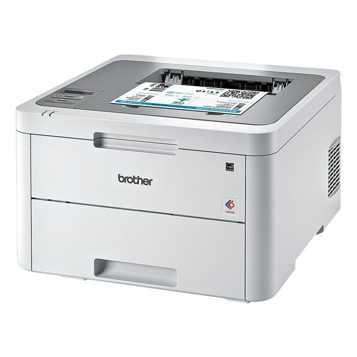 Brother HL-L3210CW Laserdrucker, A4 Farb-Laserdrucker, 2400 x 600 dpi, mit WLAN