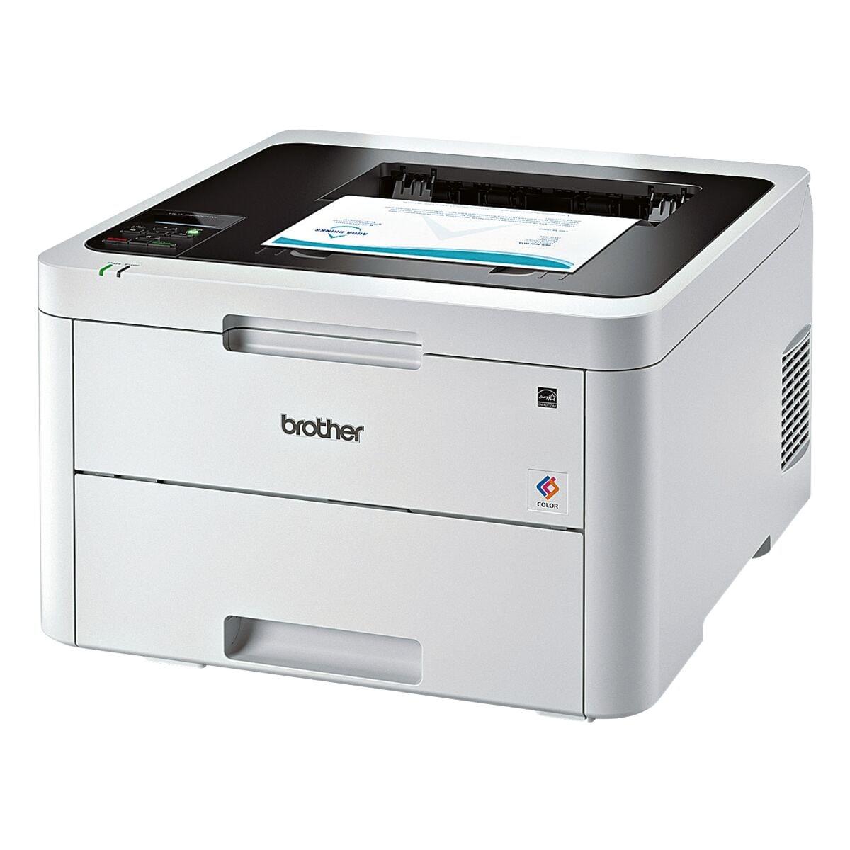Brother HL-L3230CDW Laserdrucker, A4 Farb-Laserdrucker, 2400 x 600 dpi, mit LAN und WLAN