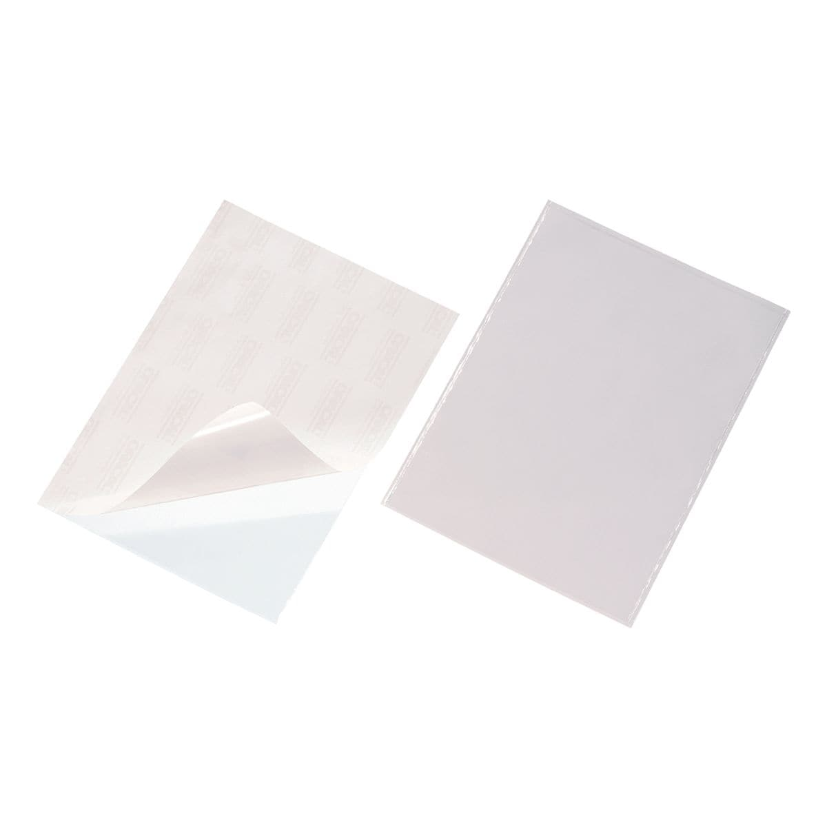 Durable Selbstklebe-Taschen »POCKETFIX®« A4 50 Stück