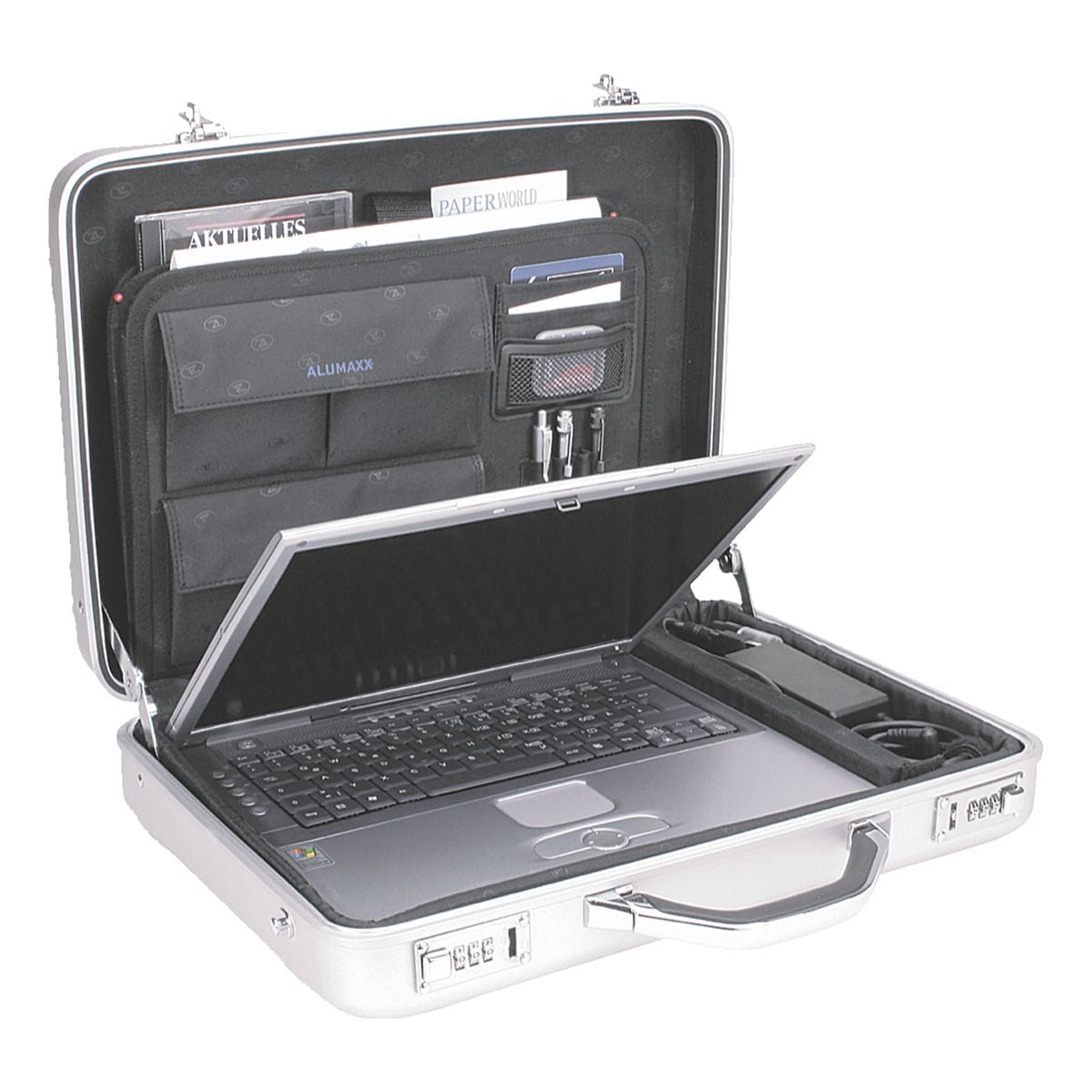 Alumaxx Laptop-Attachékoffer »Mercato«