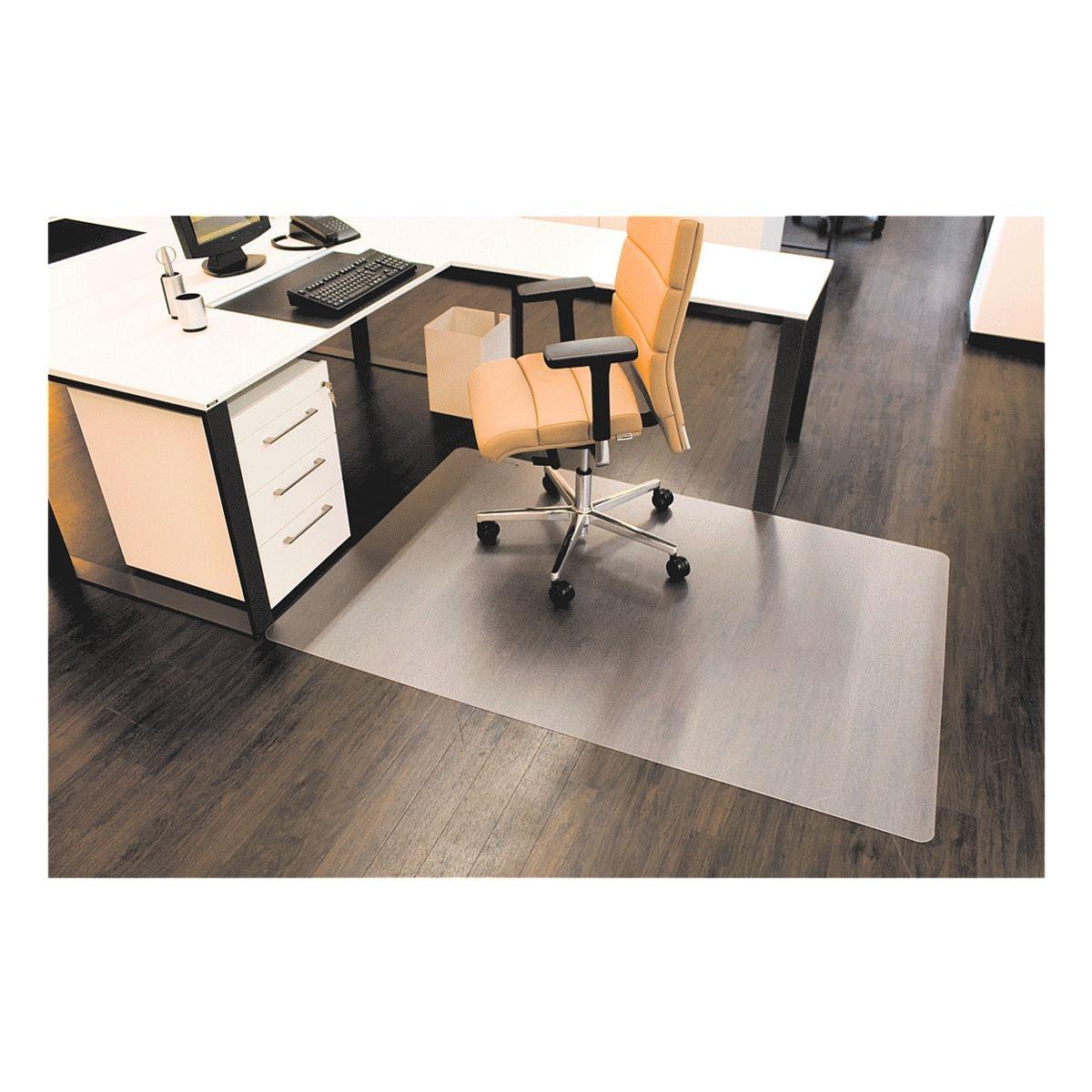 Bodenschutzmatte für Hartböden, Makrolon®, Rechteck 180 x 120 cm, RS Office Products Roll-o-Grip