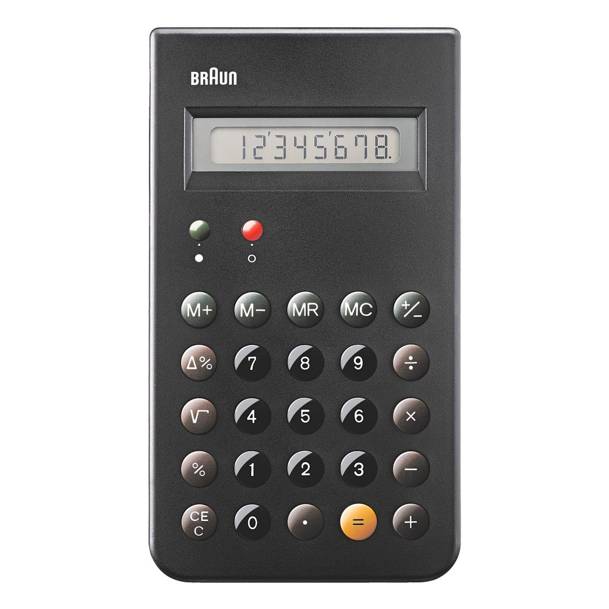 BRAUN Taschenrechner BNE001BK