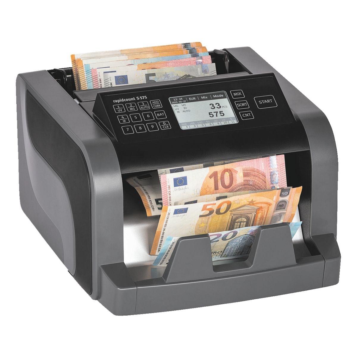 ratiotec Banknotenzählmaschine »Rapidcount S 575«