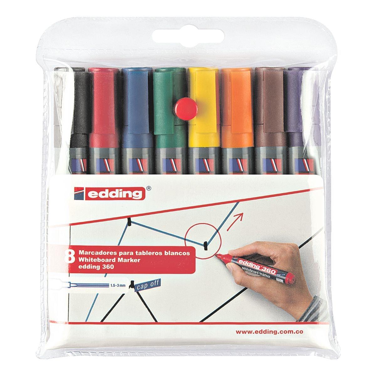 Edding 8er-Pack Whiteboard-Marker »360«