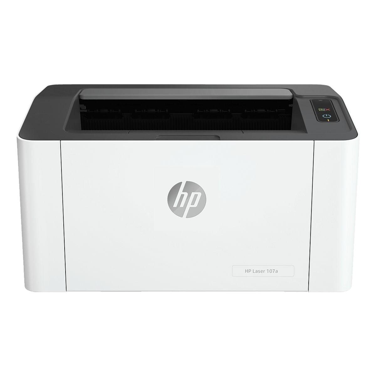 HP 107a Laserdrucker, A4 schwarz weiß Laserdrucker, 1200 x 1200 dpi