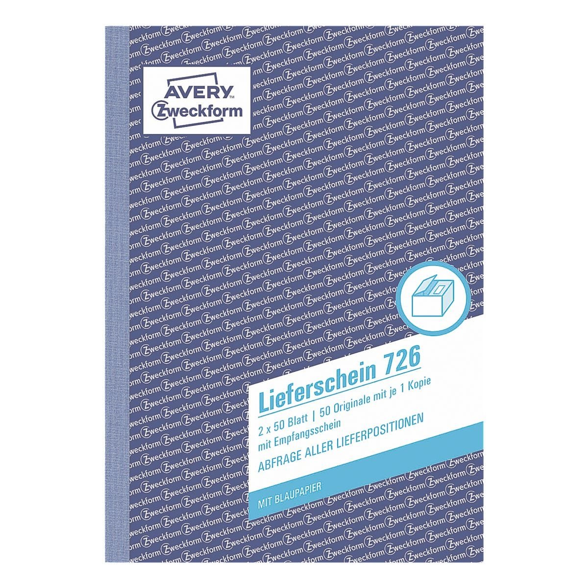 Avery Zweckform Lieferschein »726« A5 mit Empfangsschein