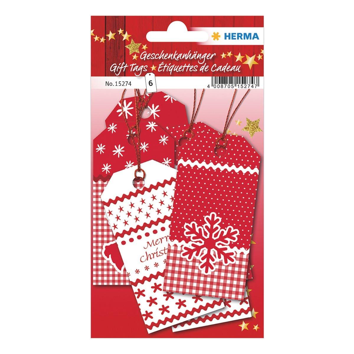 Herma Geschenkanhänger »White Christmas«