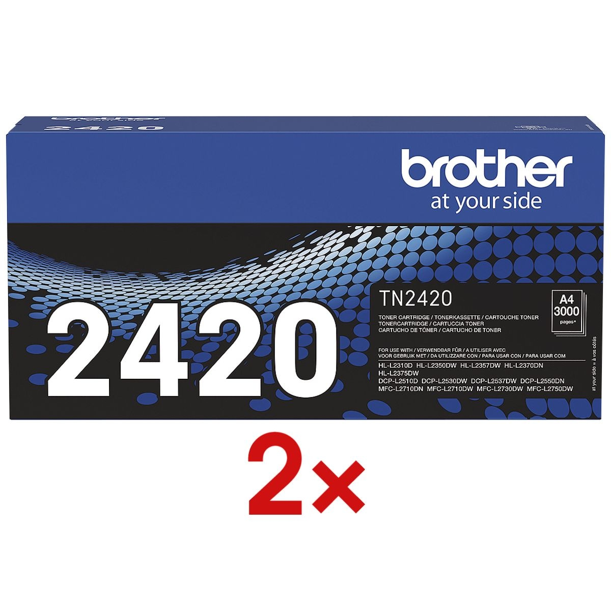 Brother 2er-Pack Toner »TN-2420«