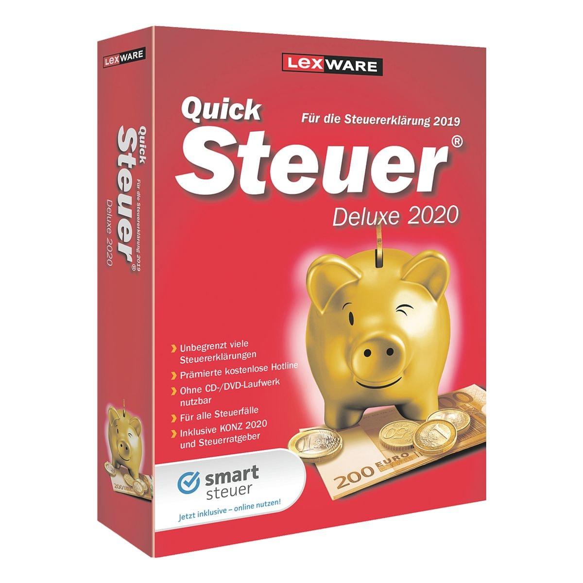 Kaufmännische Software Lexware QuickSteuer Deluxe 2020 Deluxe