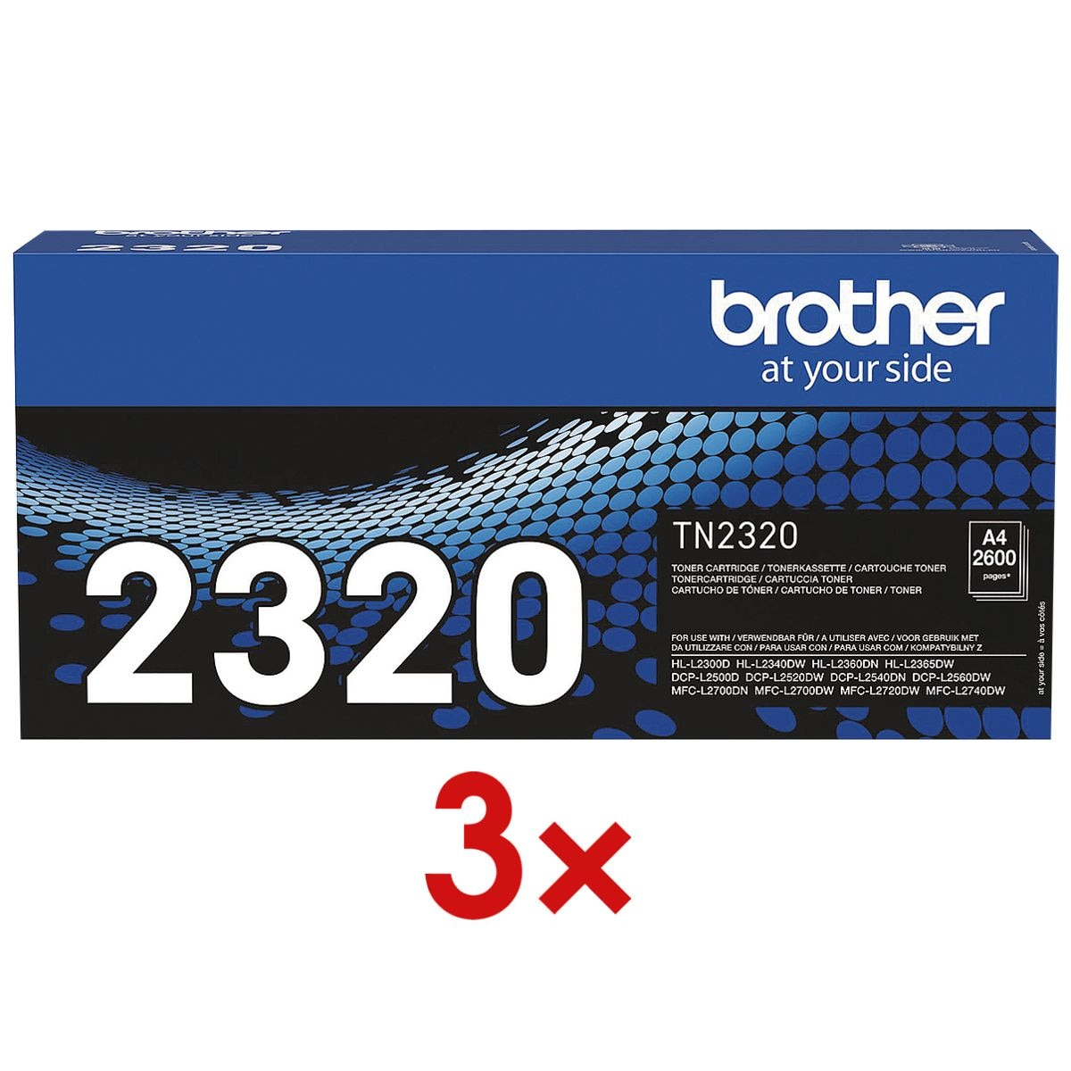Brother 3x Toner »TN-2320«