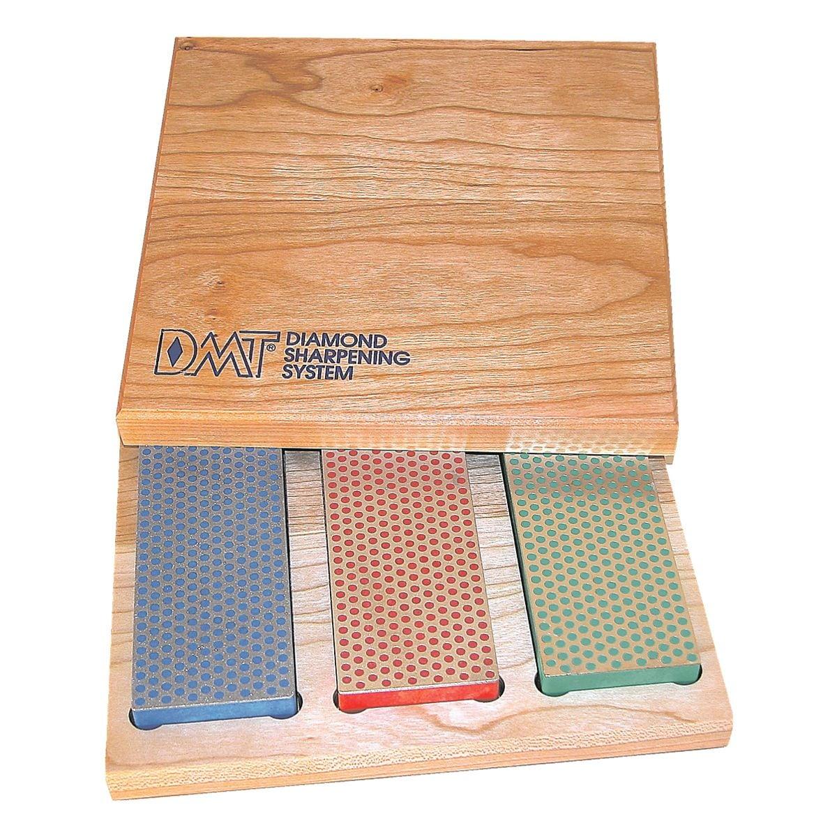 DMT 3-tlg. Diamantschärferstein-Set in Holzbox