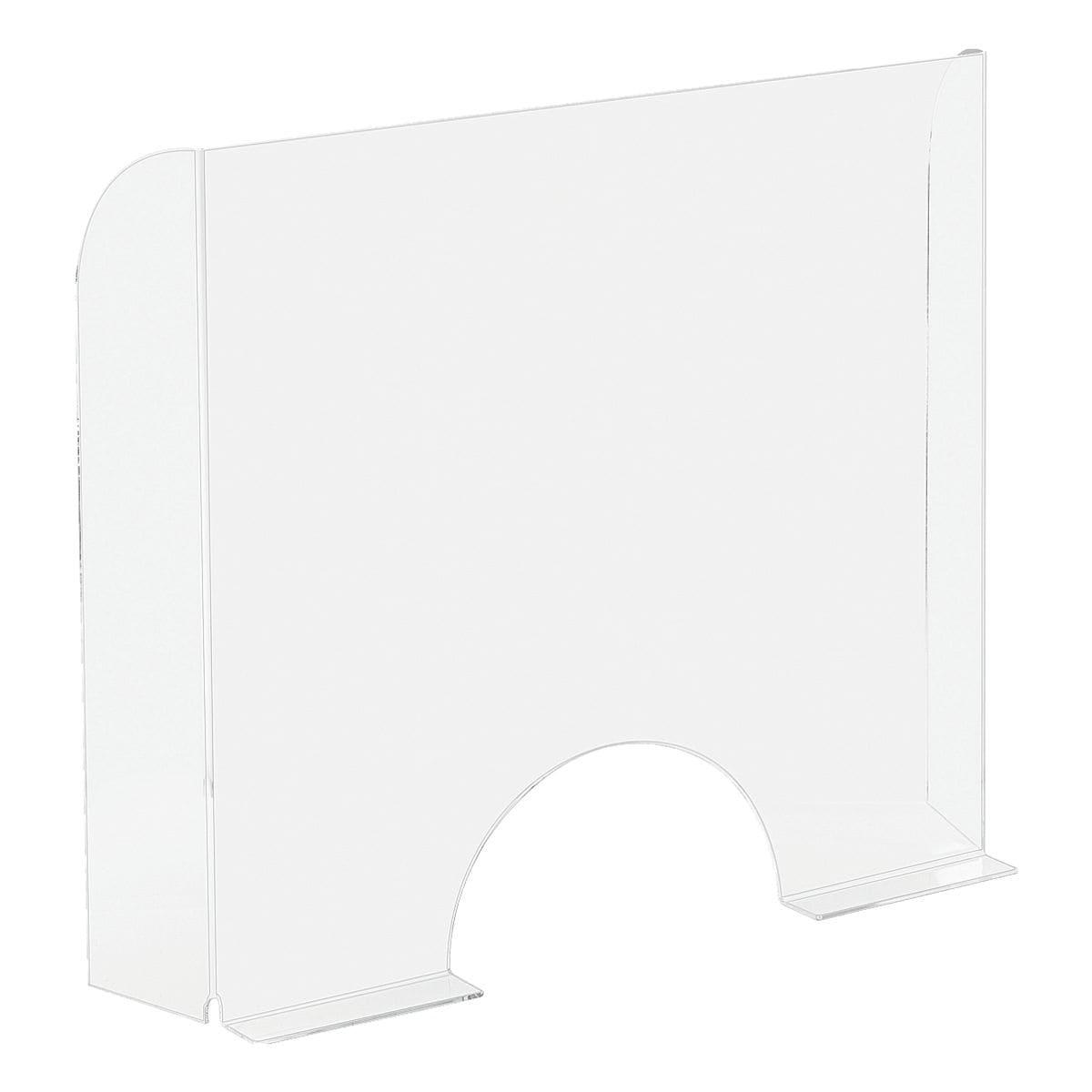 EXACOMPTA Nies- und Spuckschutz / Trennwand »Exascreen« 68 x 6 x 95 cm