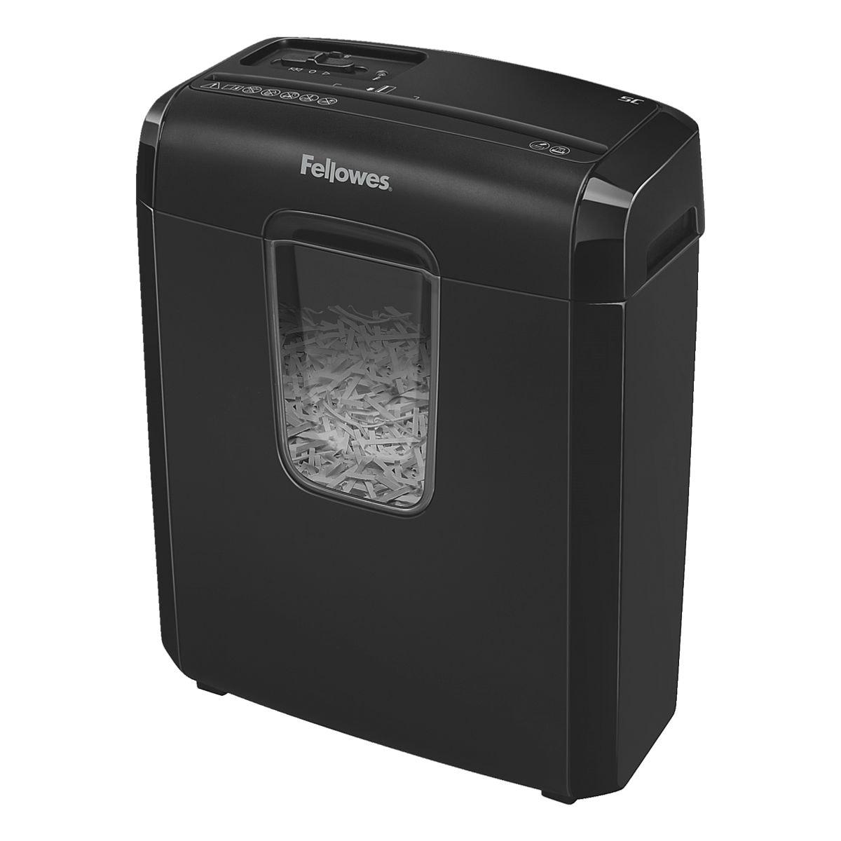 Aktenvernichter Fellowes Powershred 6C, Sicherheitsstufe 4, Partikelschnitt (4 x 35 mm) bis 6 Blatt