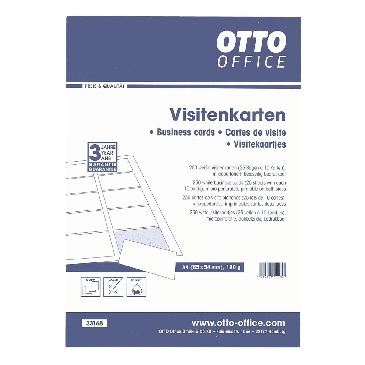 Otto Office Visitenkarten Bei Otto Office Günstig Kaufen