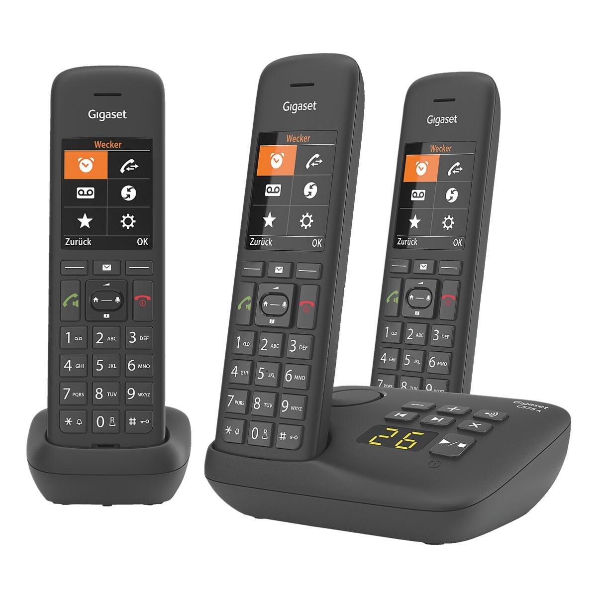 Gigaset Schnurloses Telefon »C575A« Trio