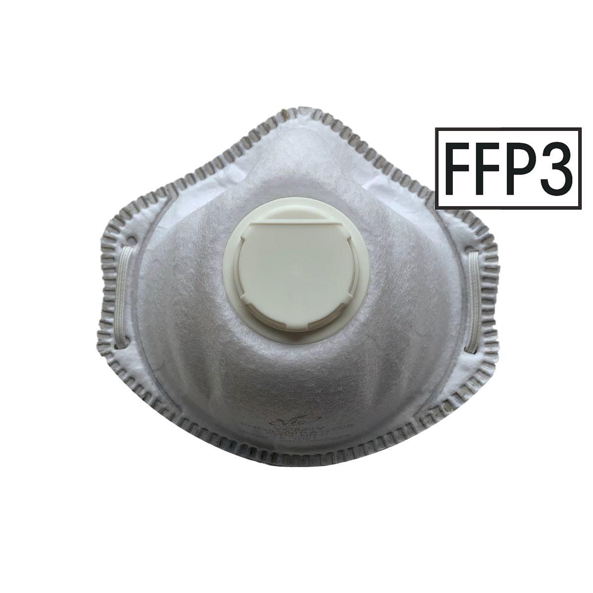 UVEX 10er-Pack FFP3 Einweg-Maske mit Ventil »VIC823V«