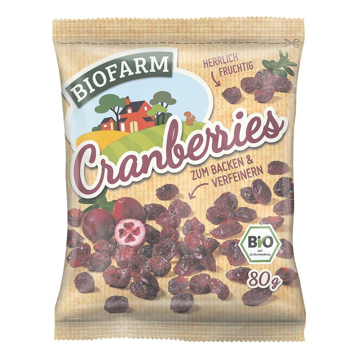 BIOFARM Cranberries 80 g