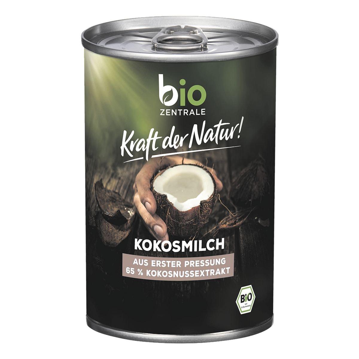 bio ZENTRALE BIO Kokosmilch 400 ml