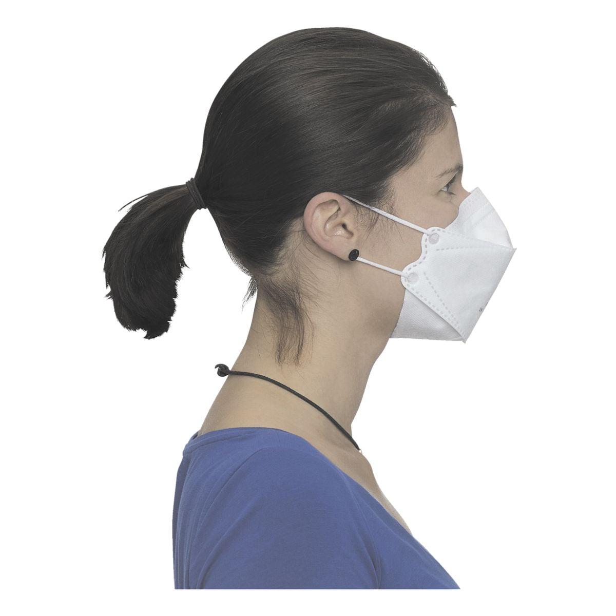 BBE Solutions 50er-Pack FFP2 Maske 3-Panel-Design »Y-Serie Y20N« ohne Ventil