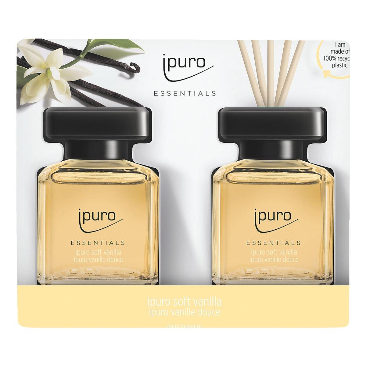 ipuro Raumduft »Soft Vanilla Touch« 2x 50 ml
