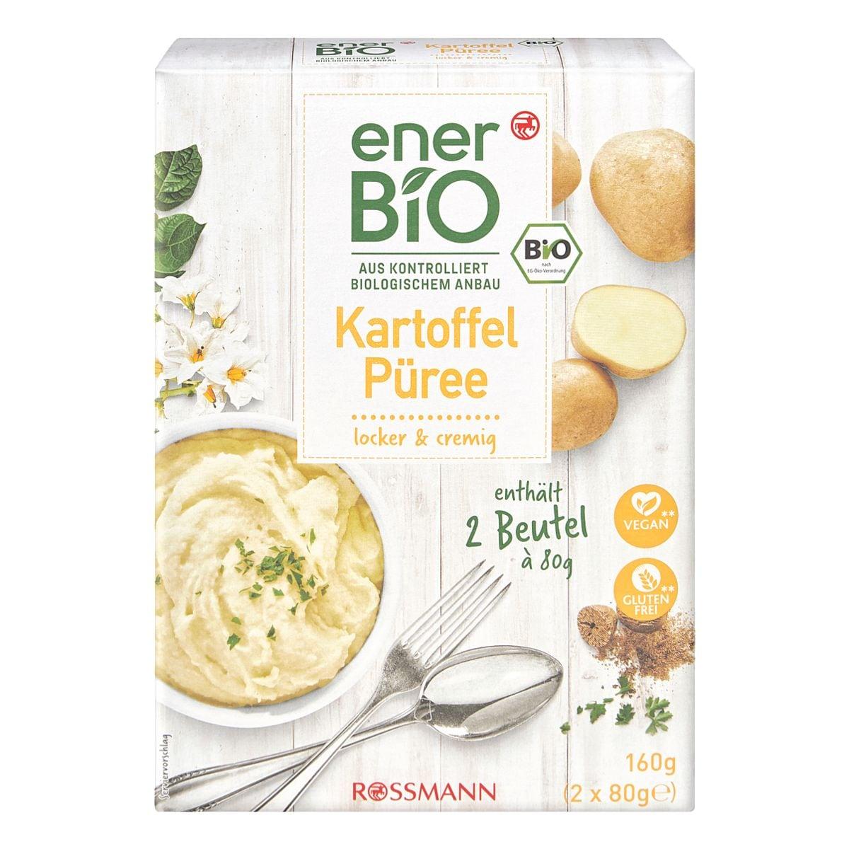enerBIO Bio-Kartoffelpüree 2x 80 g