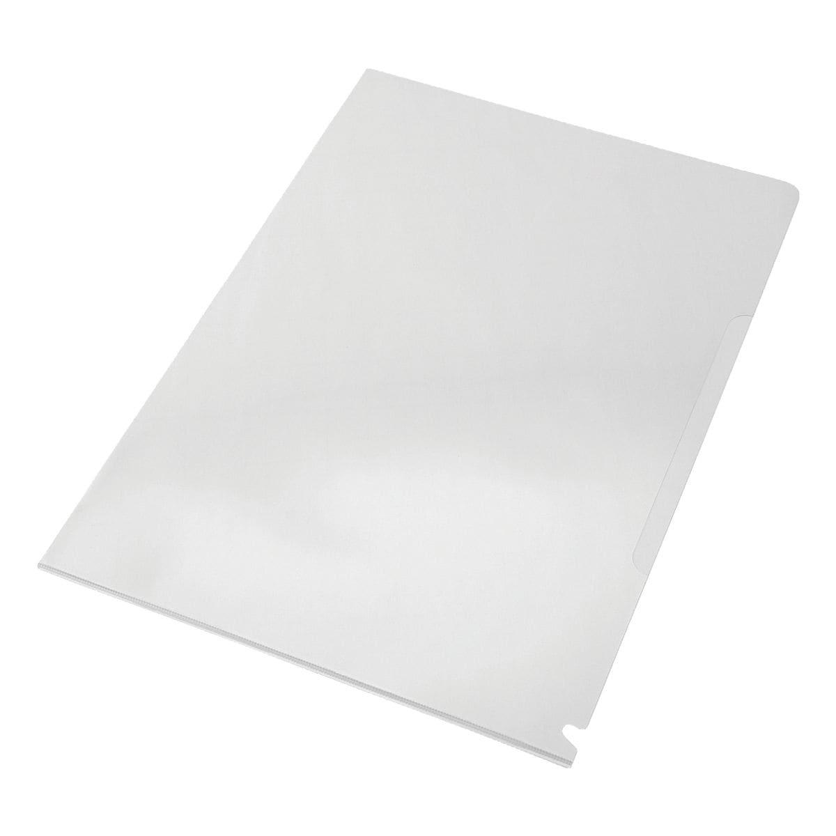 EICHNER Sammelhülle A4 genarbt/transparent, oben und seitlich offen 0,18 mm - 100 Stück