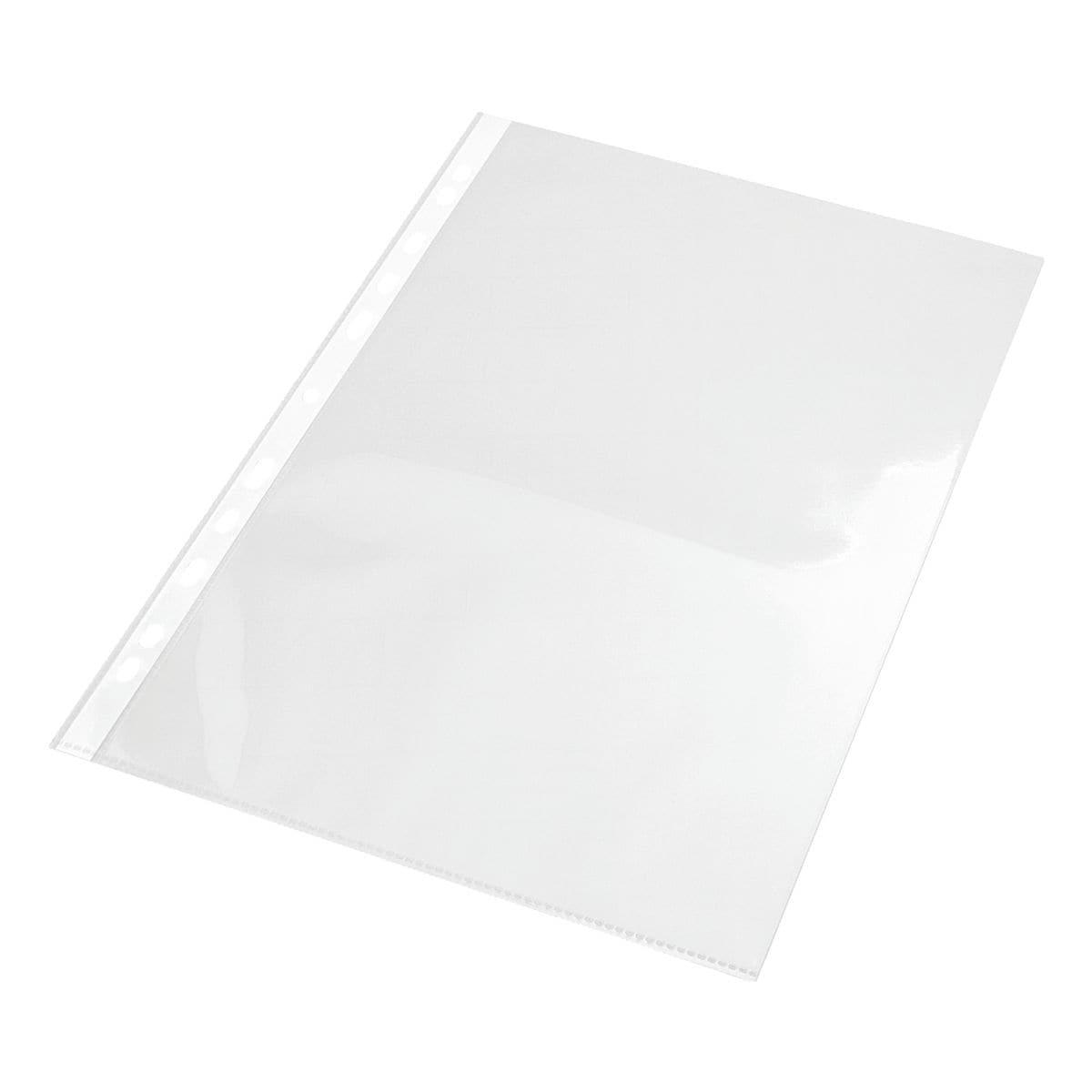 EICHNER Sammelhülle A4 glatt/glasklar, oben offen 0,12 mm - 100 Stück