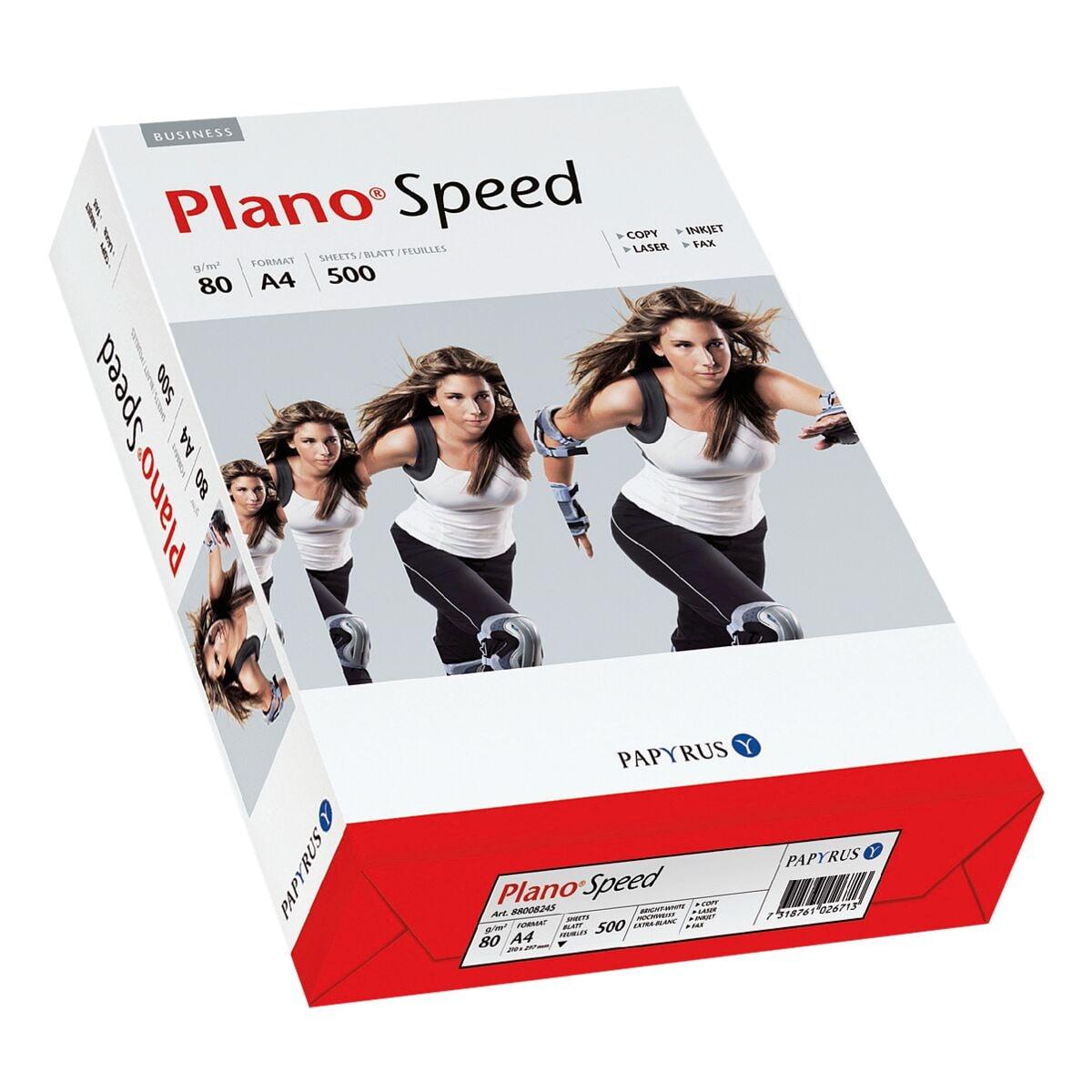 Kopierpapier A4 Plano Plano Speed - 500 Blatt gesamt, 80g/qm