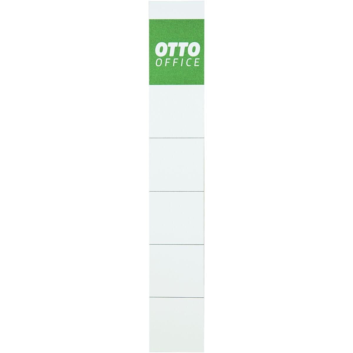 OTTO Office Ordner-Rückenschilder zum Einstecken