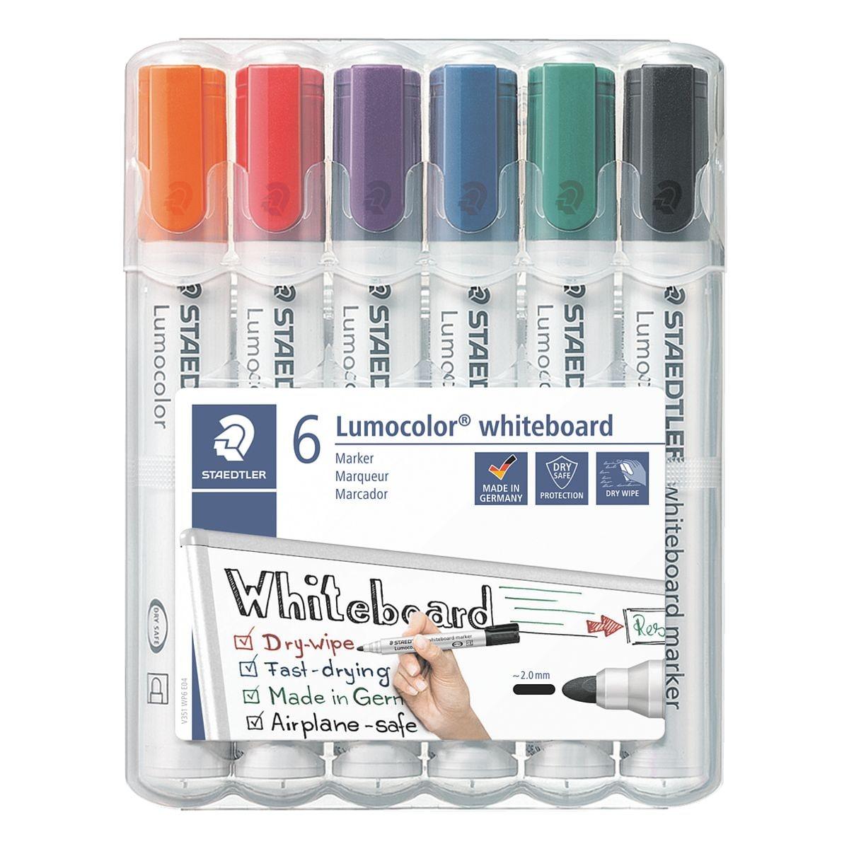 Staedtler 6er-Pack Whiteboard-Marker »Lumocolor 351 WP6«