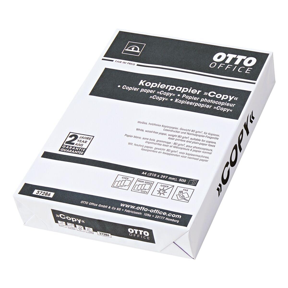 Kopierpapier A4 OTTO Office Budget COPY - 500 Blatt gesamt, 80g/qm