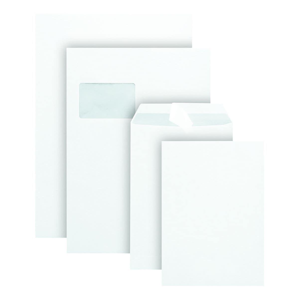 500 Versandtaschen, C5 90 g/m² ohne Fenster