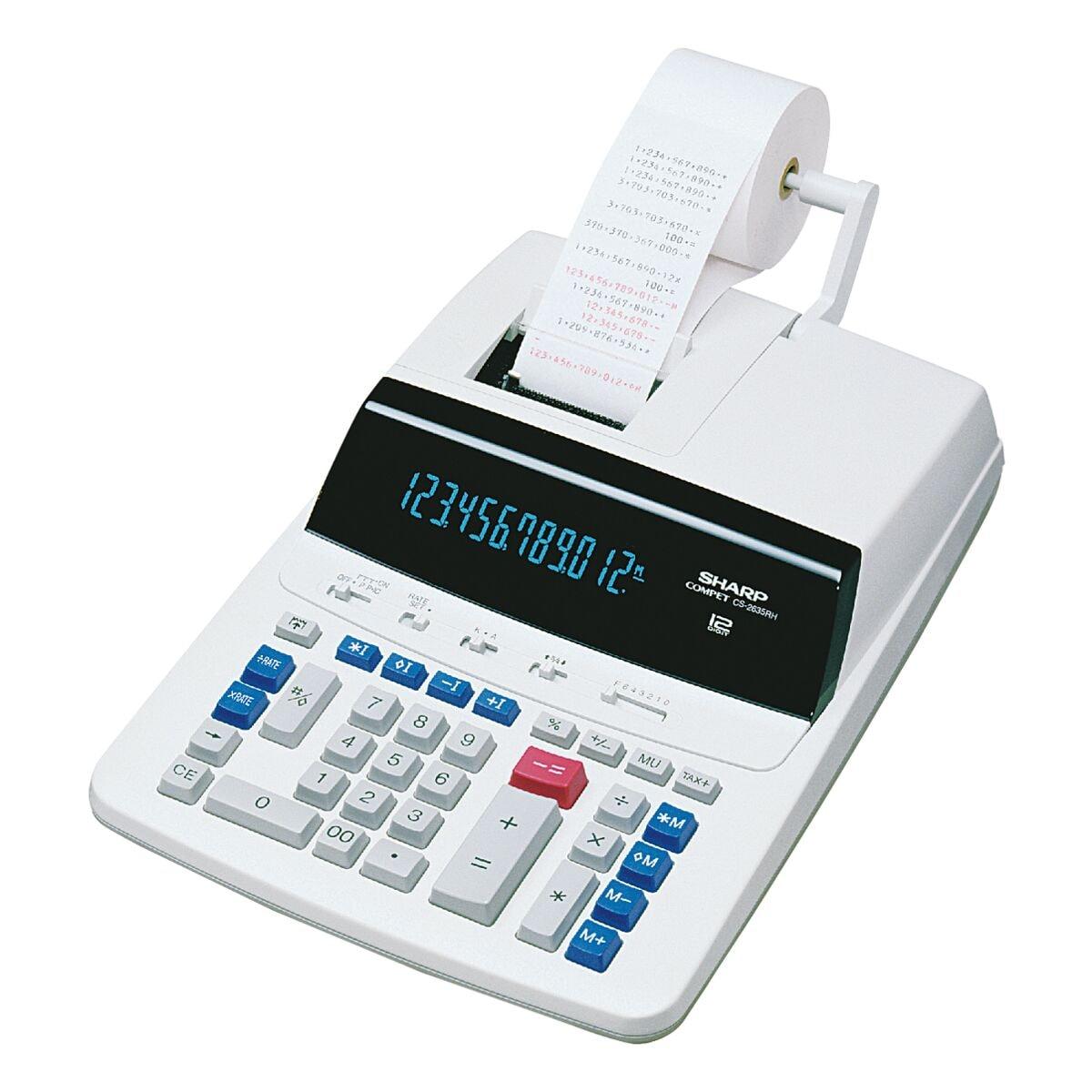Sharp Druckender Tischrechner »CS-2635RHGY«