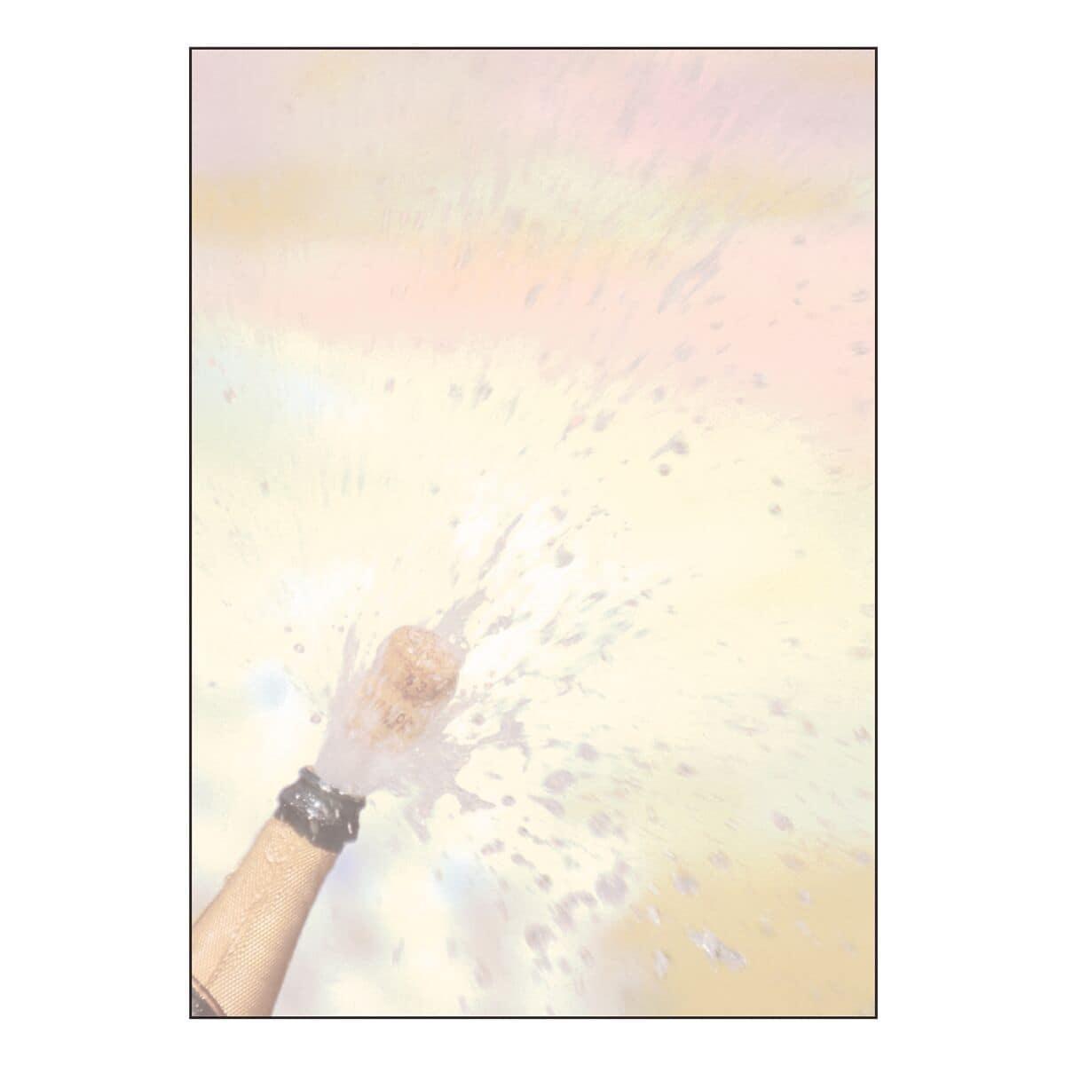 Sigel Motivpapier »Champagner« DP297