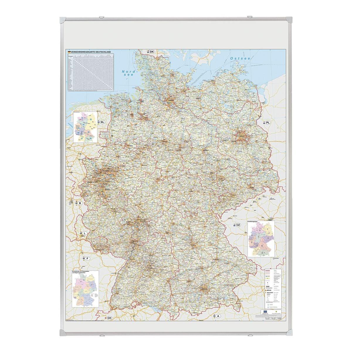 Franken Deutschlandkarte »KA301P«