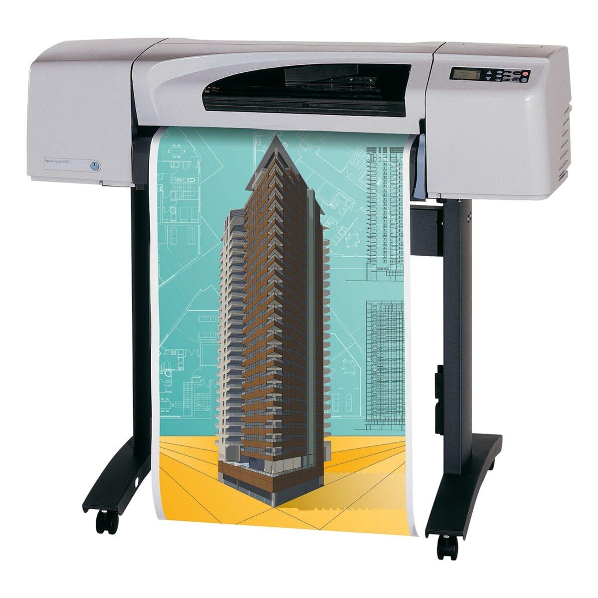 Inapa tecno cad Plotter-Papier »CAD Economics« 80 g/m² 914 mm x 50 m