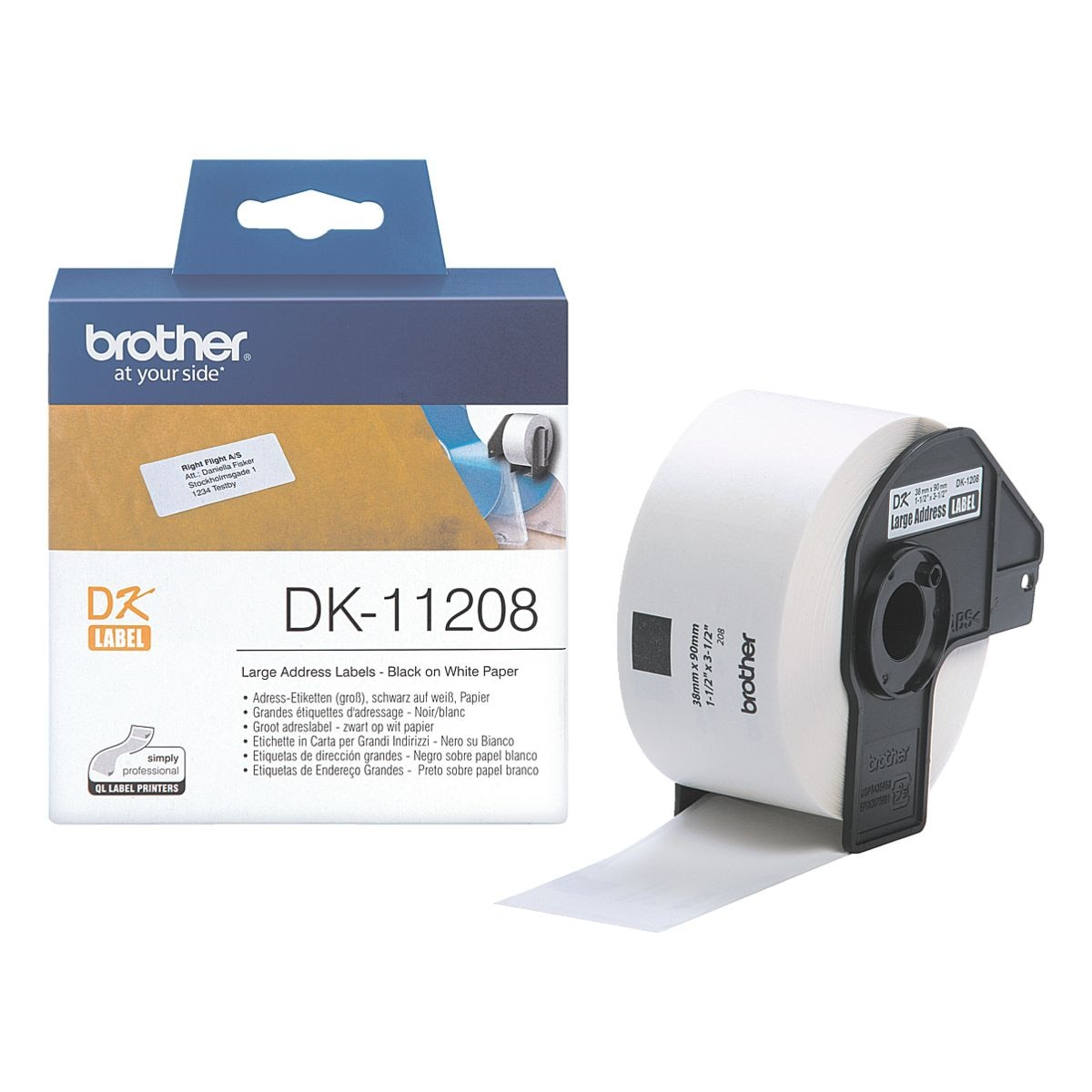 Brother Adress-Etiketten »DK-11208«