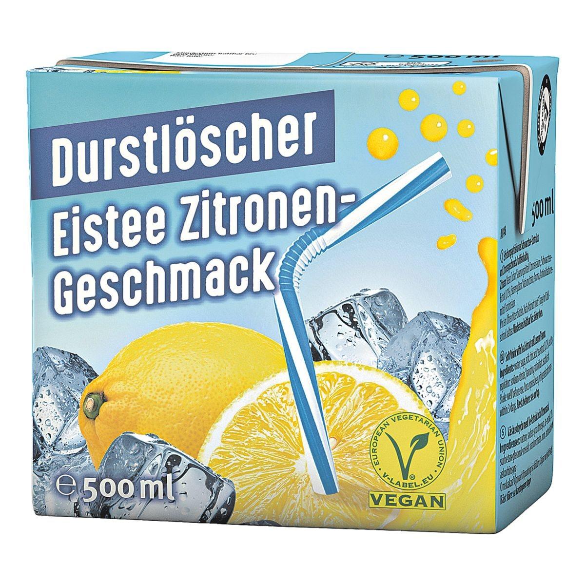 Durstlöscher Eistee »Zitrone«