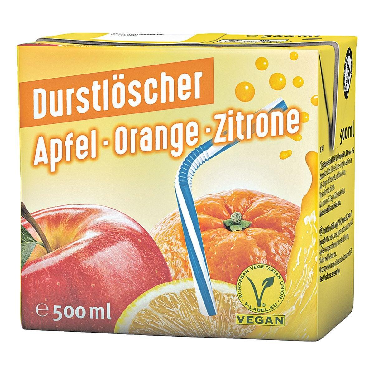 Durstlöscher Fruchtsaftgetränk »Apfel/Orange/Zitrone«