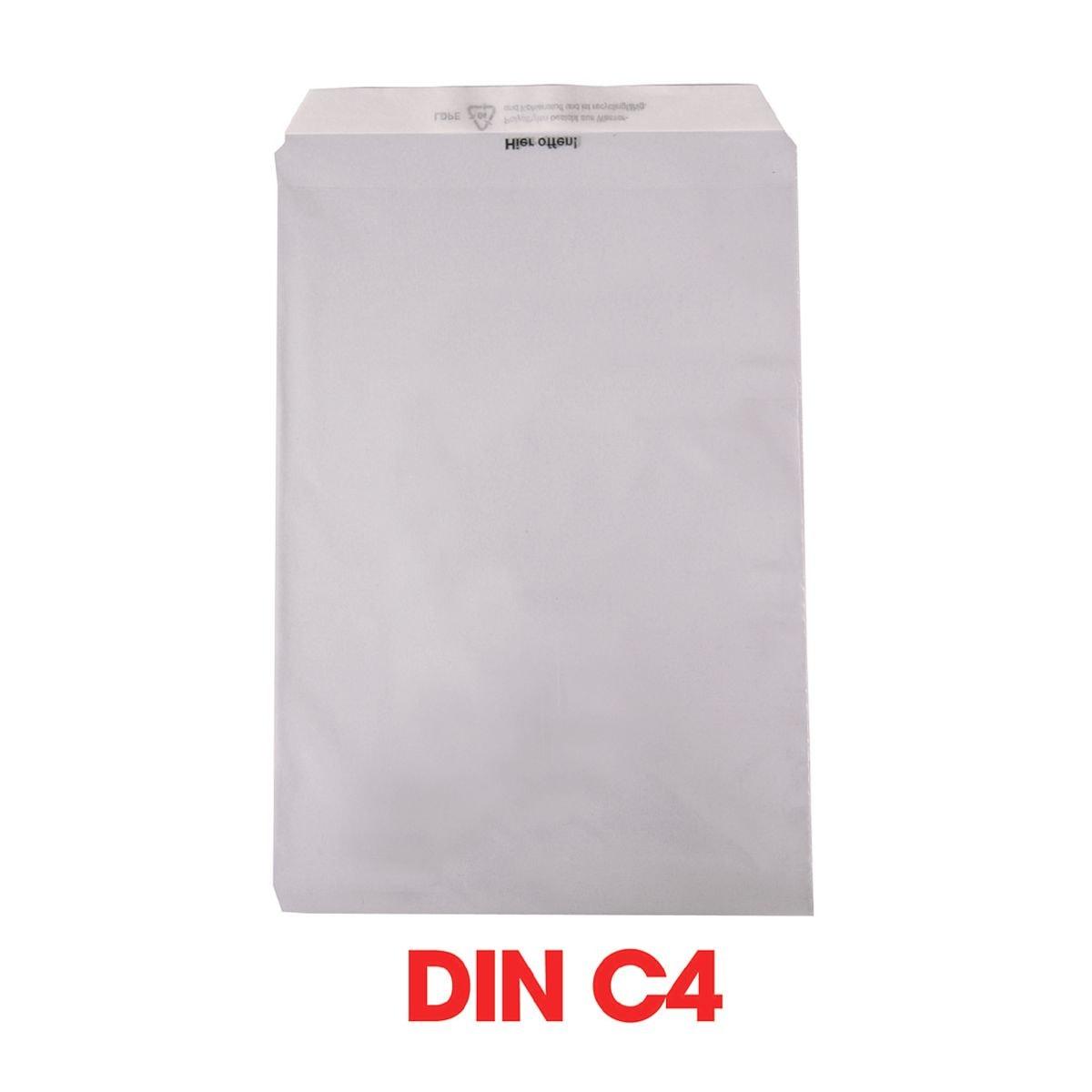Mailmedia 1000 Folienversandtaschen, C4 50 g/m² ohne Fenster