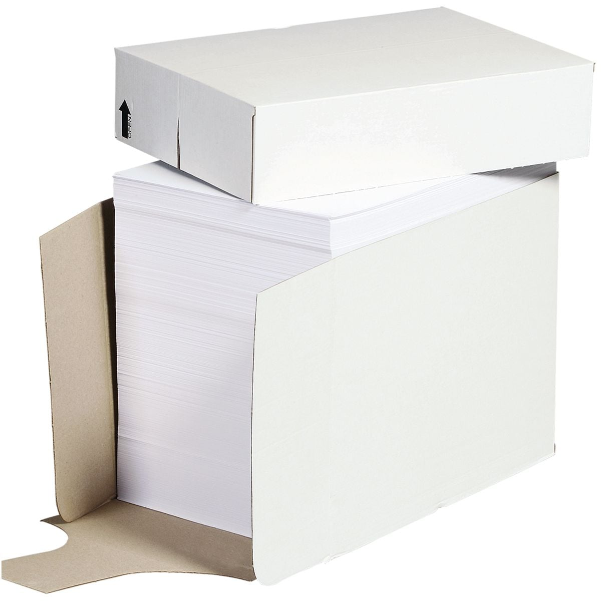 Öko-Box Kopierpapier A4 - 2500 Blatt gesamt, 80 g/m²