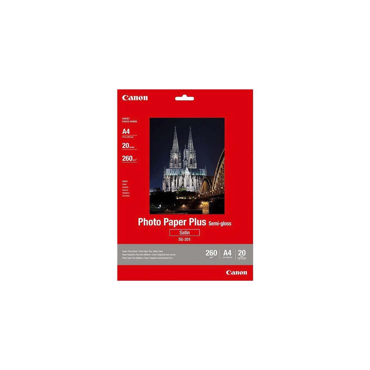 Canon Fotopapier »Plus-Semigloss A4«