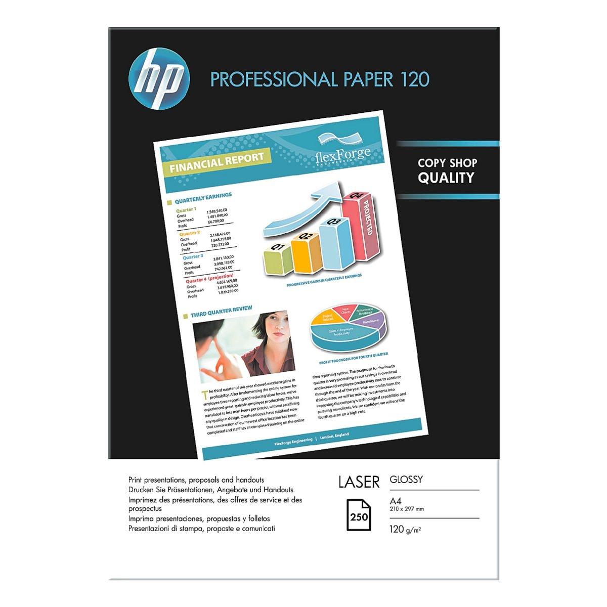HP Foto-Laserpapier »HP Professional Paper 120« A4 120g