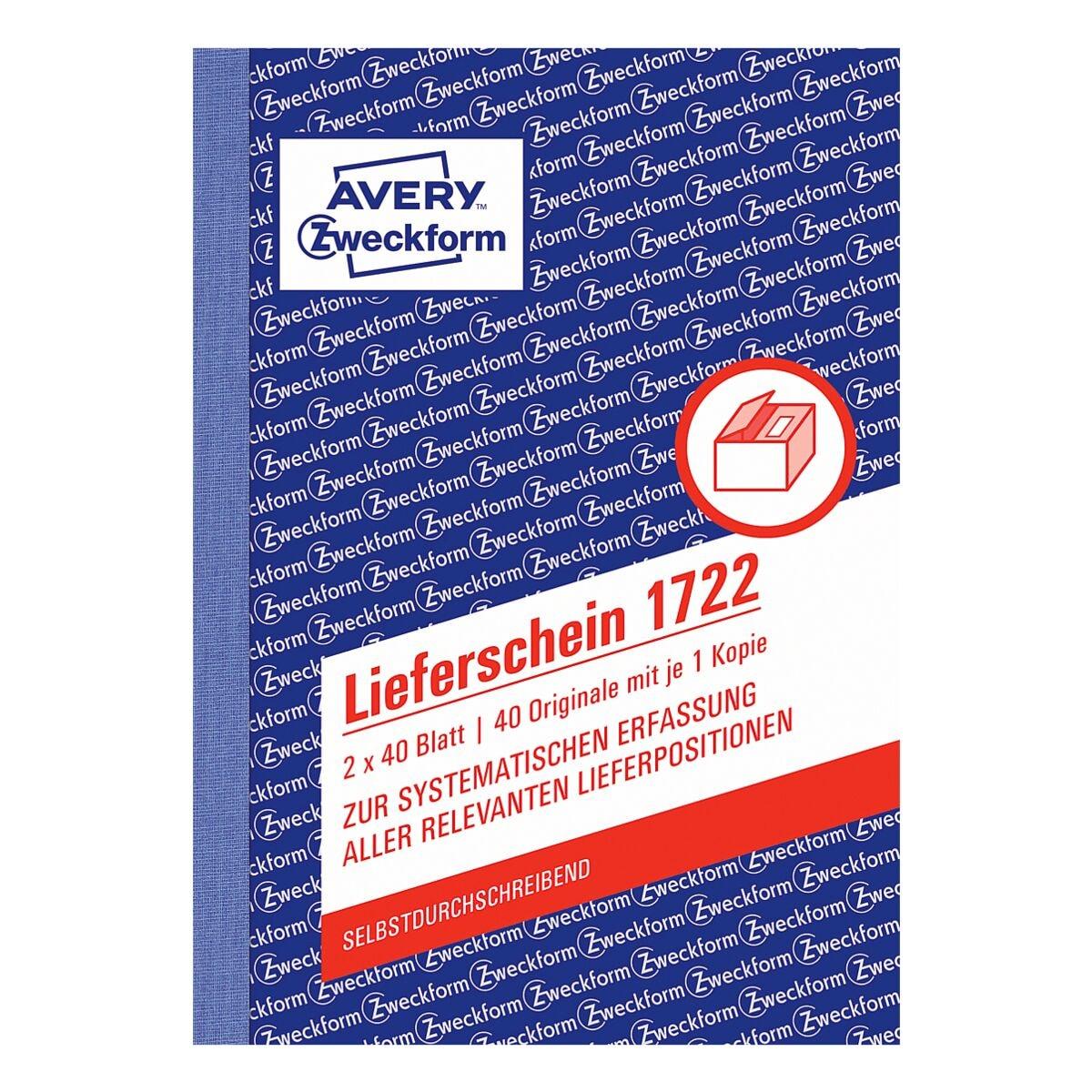 Avery Zweckform Lieferschein »1722«