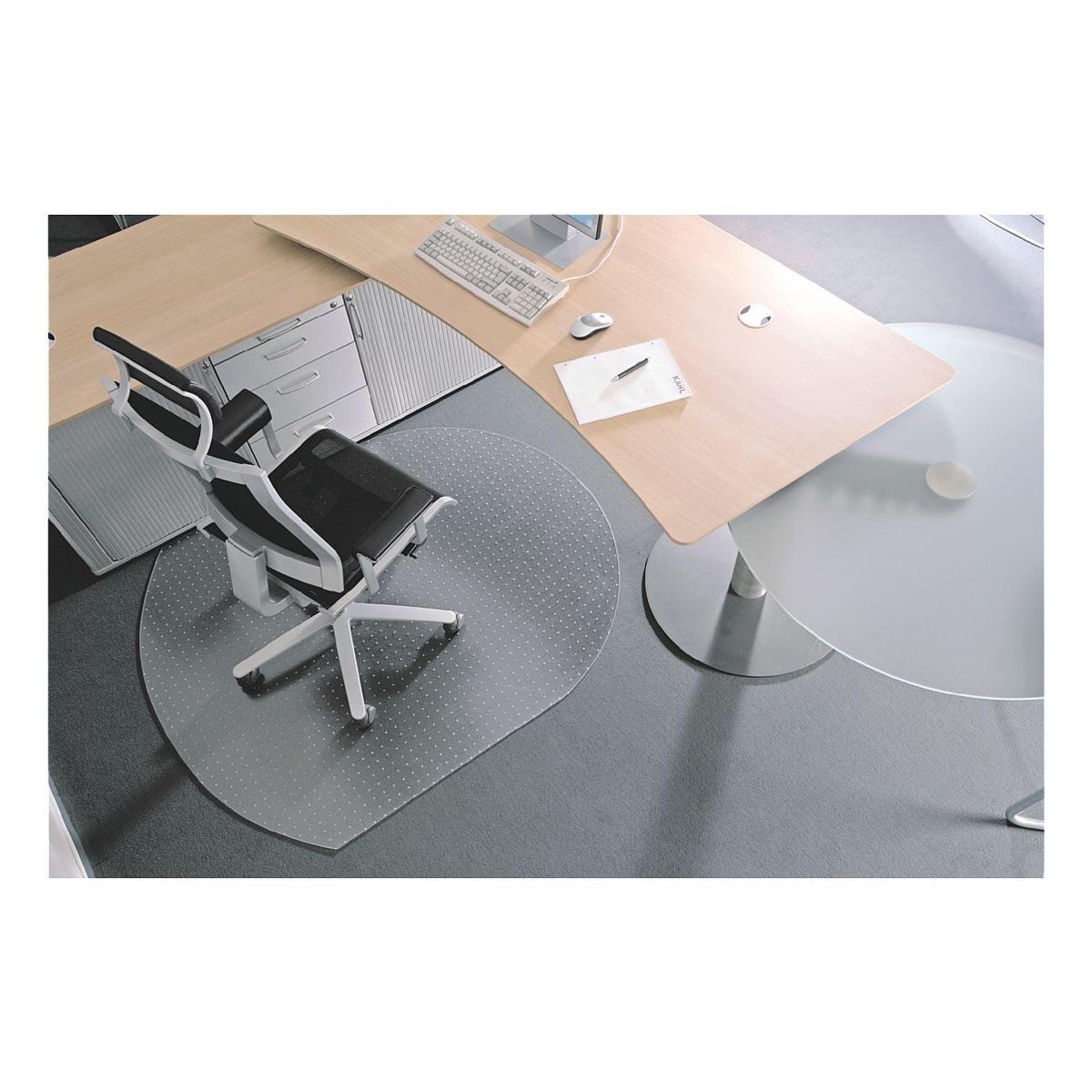 bodenschutzmatte f r teppichb den makrolon sonderform t 90 x 120 cm rs office products. Black Bedroom Furniture Sets. Home Design Ideas