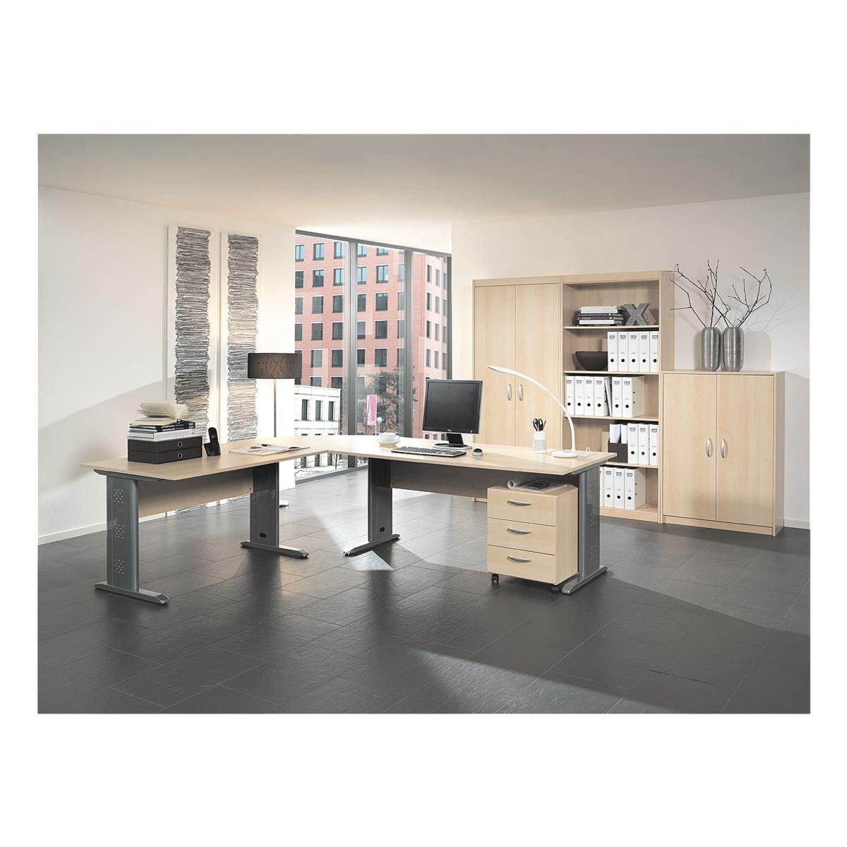 Wellemöbel Möbel-Set »Adria« 7-teilig, Schreibtisch mit C-Fuß - Bei ...