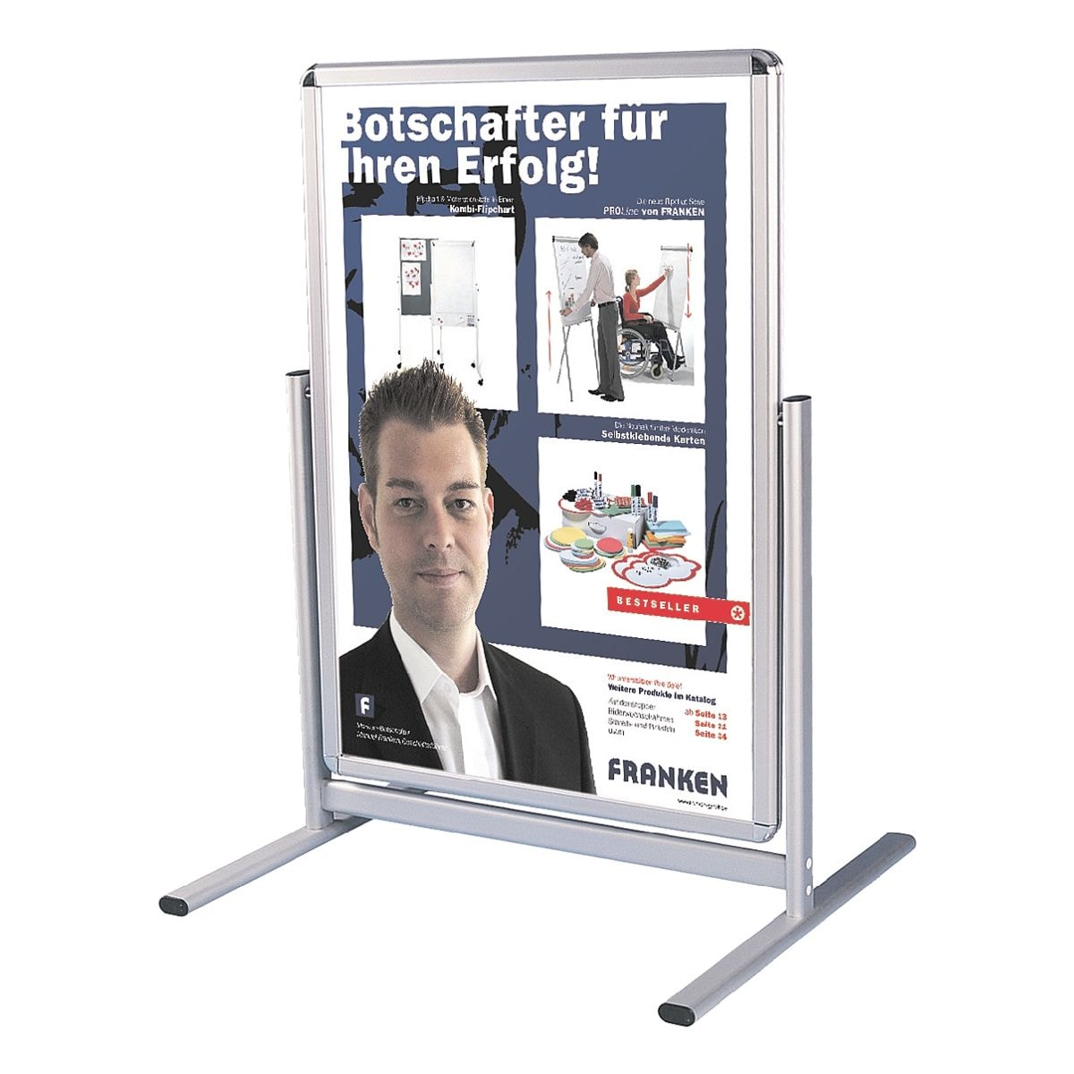 Franken Kundenstopper »Wasserdicht BS1302« A1