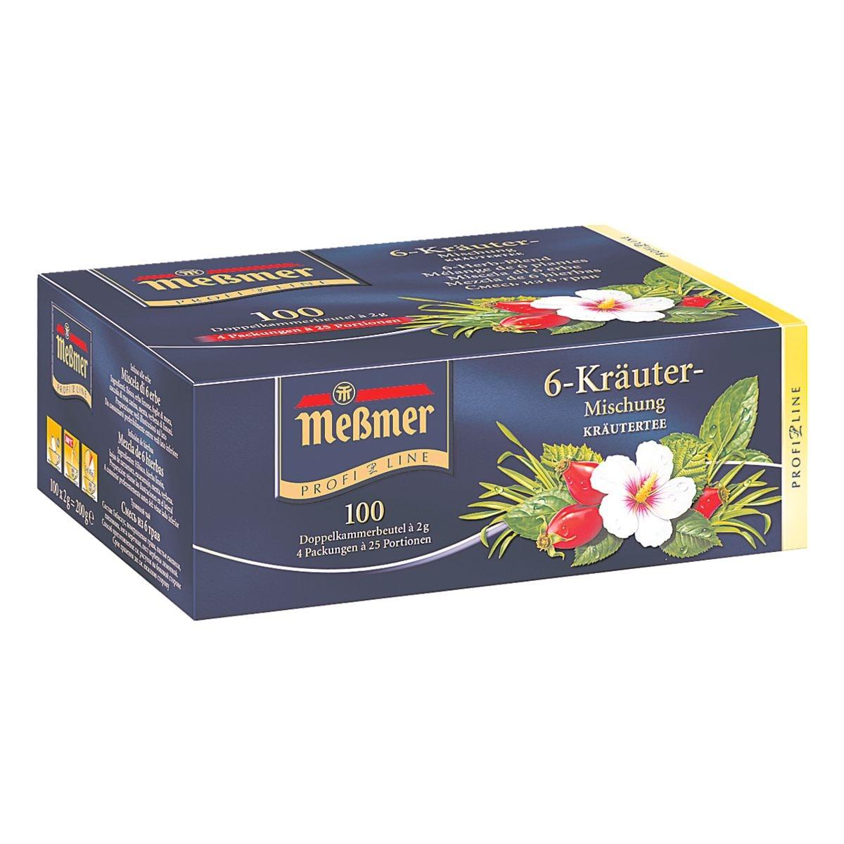 Meßmer Kräuter-Tee »Profi Line« Tassenportion, unvertierte Beutel, 100er-Pack
