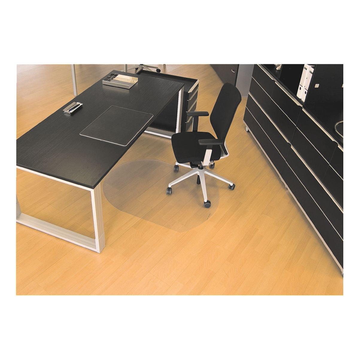 bodenschutzmatte f r hartb den makrolon sonderform t 90 x 120 cm rs office products rollsafe. Black Bedroom Furniture Sets. Home Design Ideas